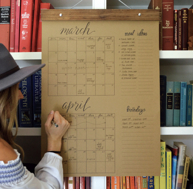 Big Write-In Calendar
