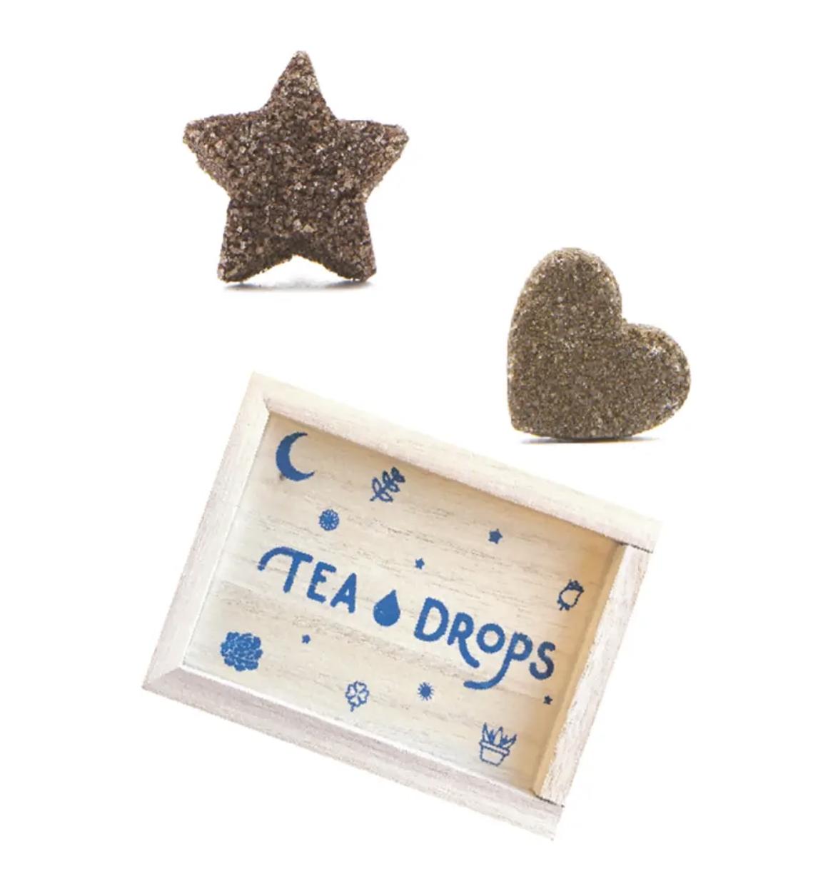 Mini Tea Drops Set in Wooden Box