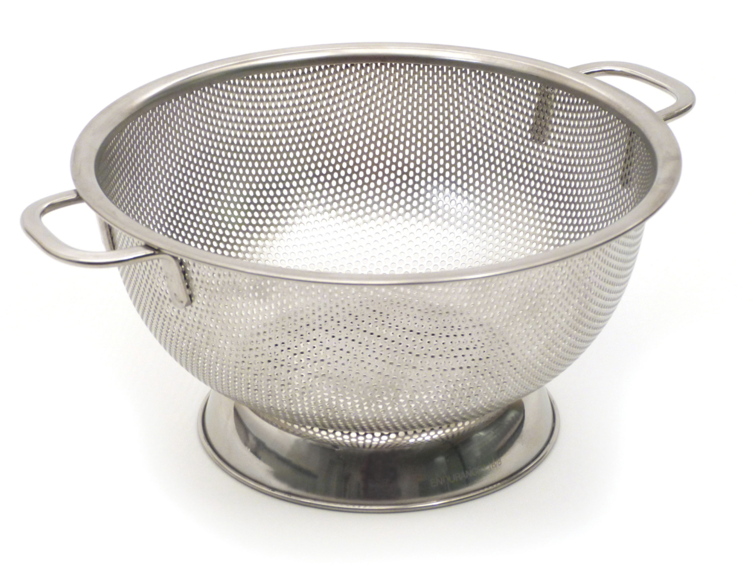 Stainless Steel Pierced Colander--CHOOSE SIZE