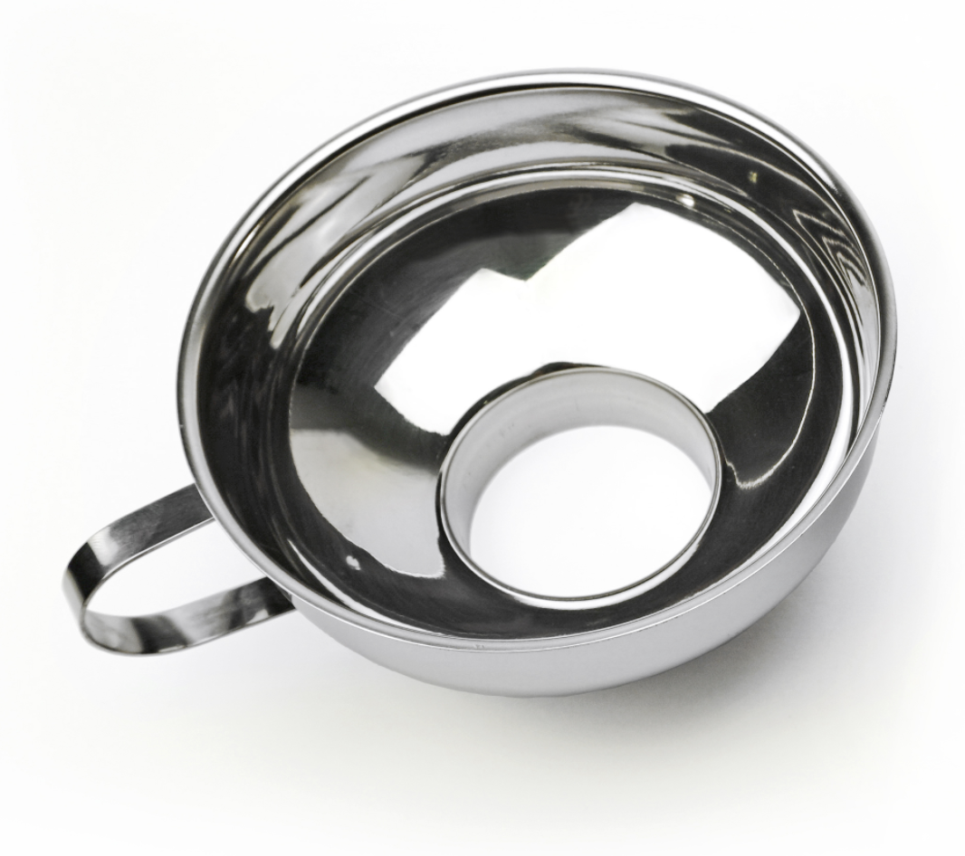 Stainless Steel Wide Mouth Funnel