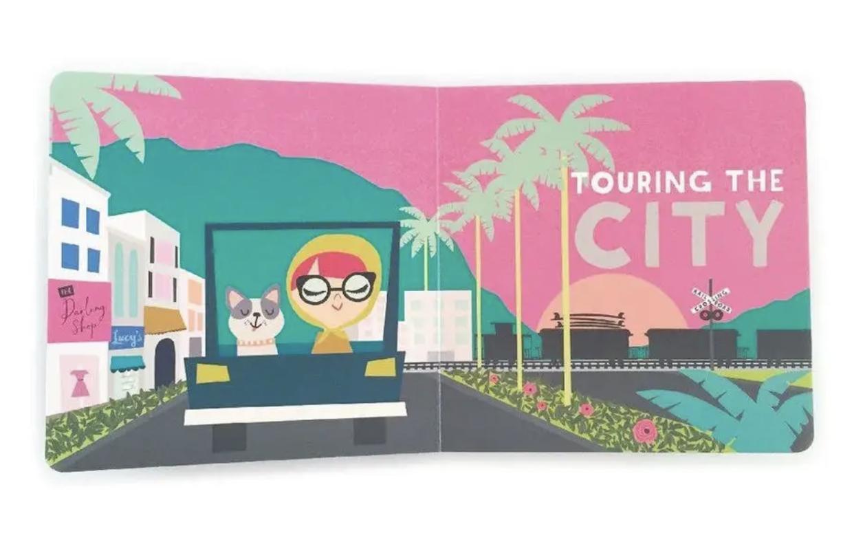 All Aboard! California, Board Book
