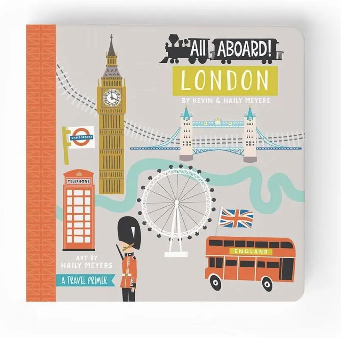 All Aboard! London, Board Book