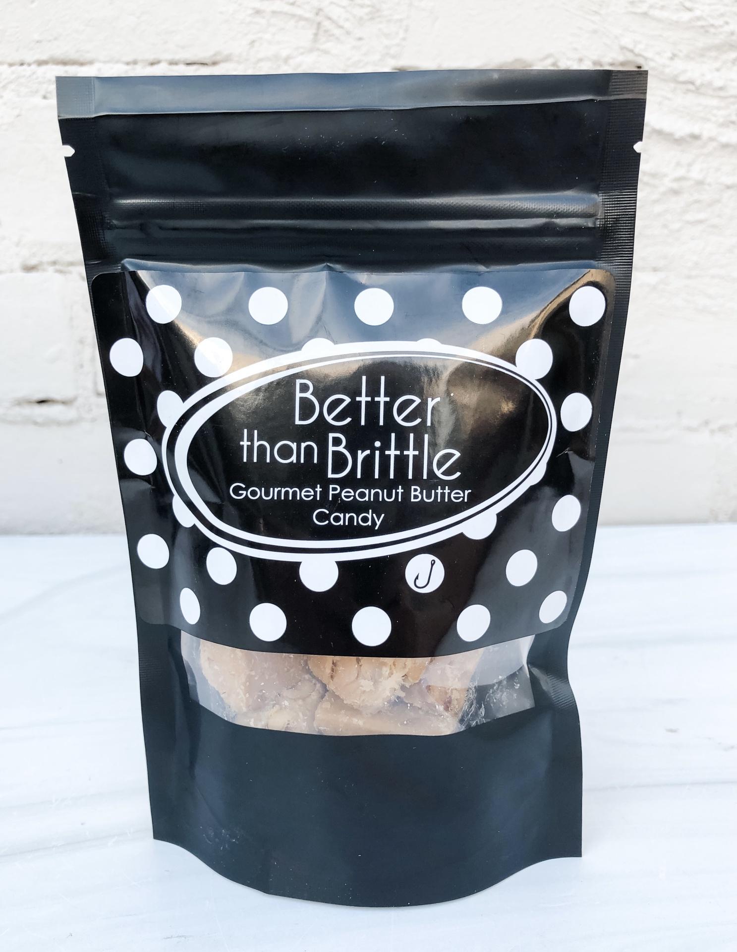 Better than Brittle: Gourmet Peanut Butter Candy, 8oz