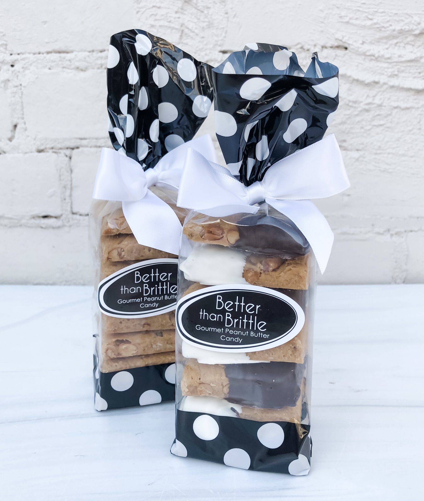 Better than Brittle: Gourmet Peanut Butter Candy, Gift Bag--CHOOSE FLAVOR