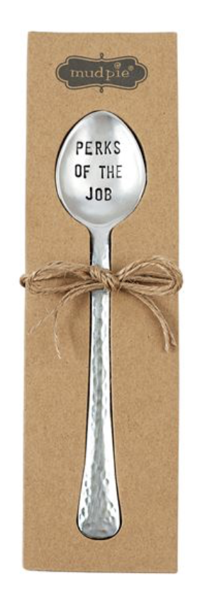 Hammered Coffee Sentiment Spoons