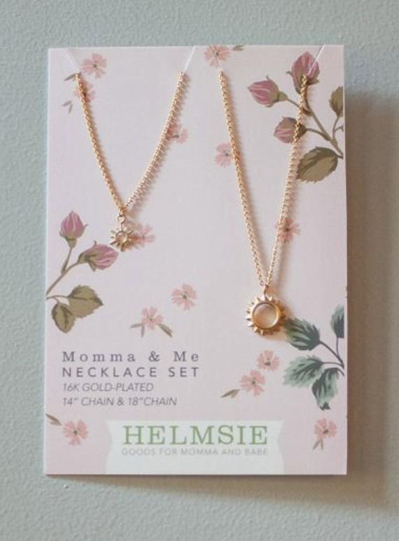 Mama + Me Sunshine Necklace Set