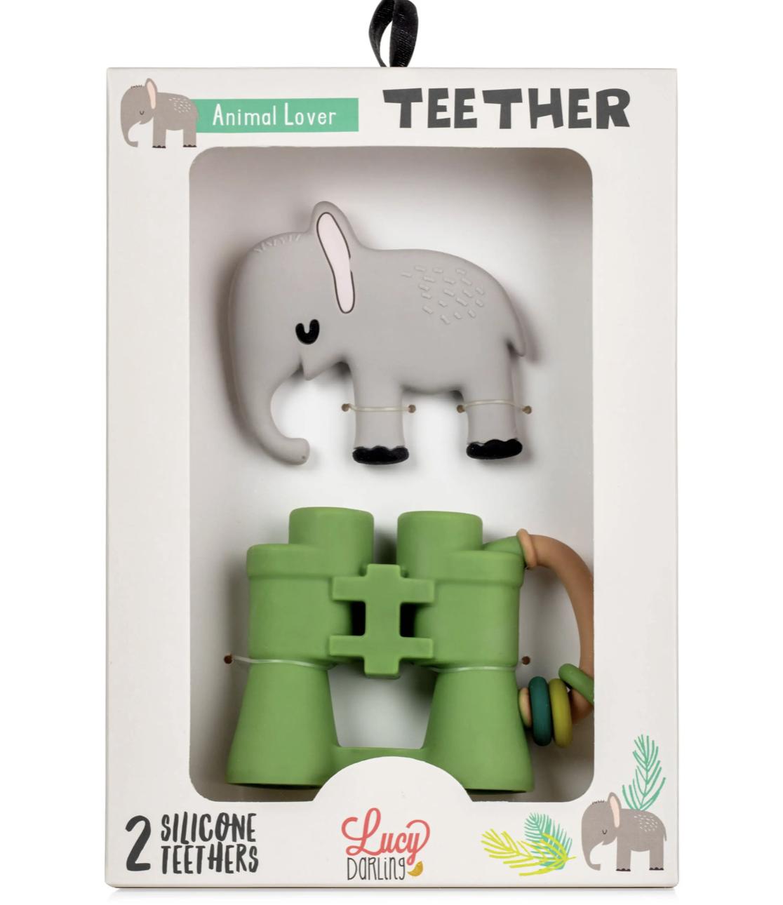 Animal Lover Teether Set