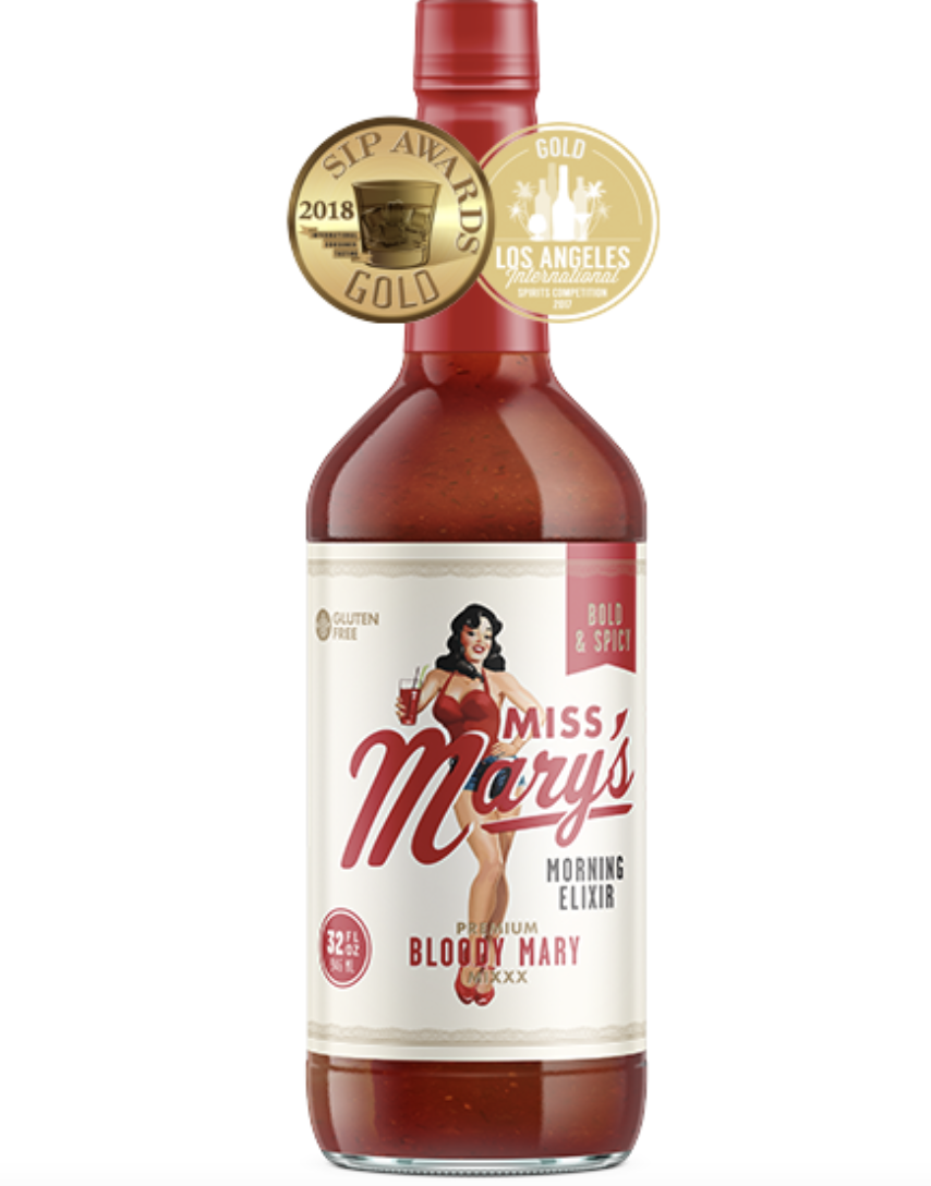 Miss Mary's Bold & Spicy Bloody Mary Mix, 32oz