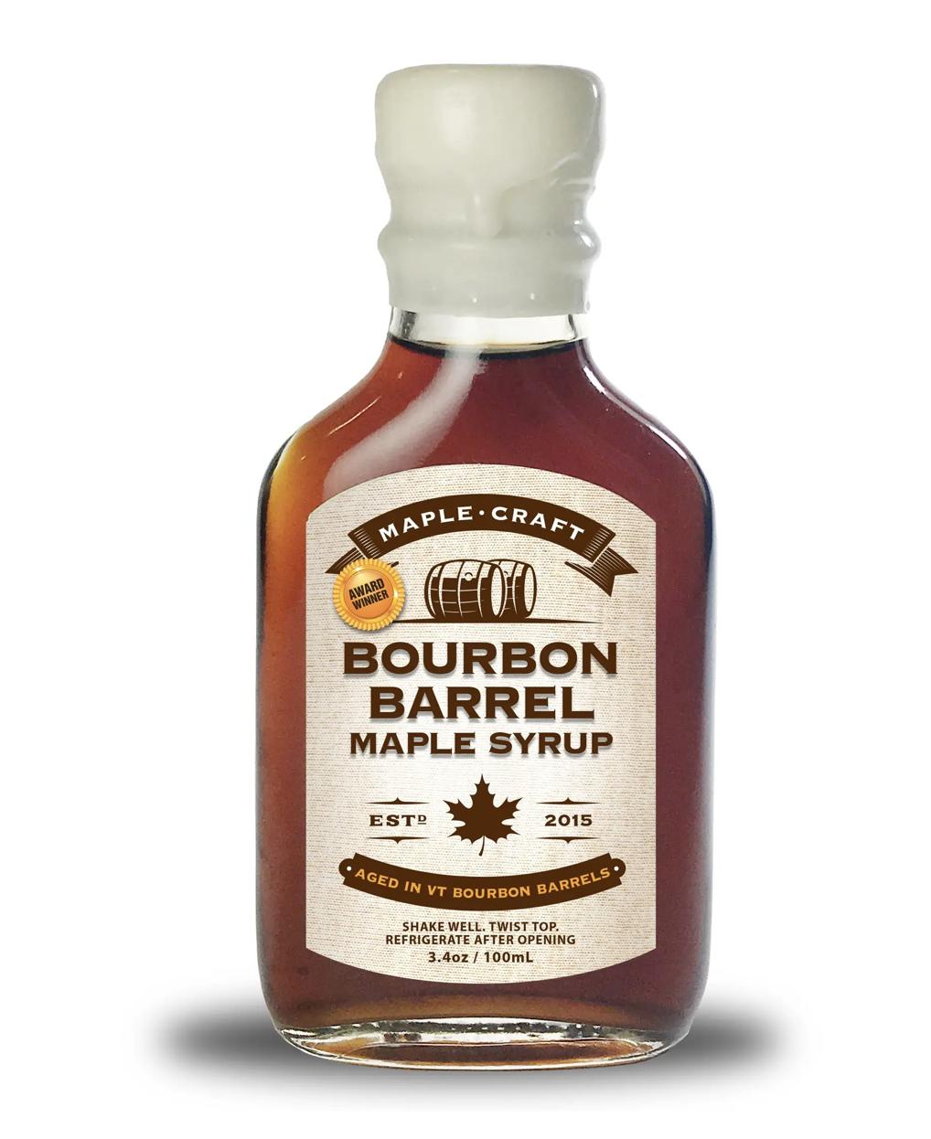 Bourbon Barrel-Aged Maple Syrup, 200mL