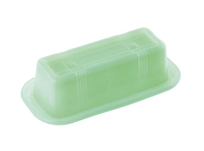 Jadeite Glass Butter Dish
