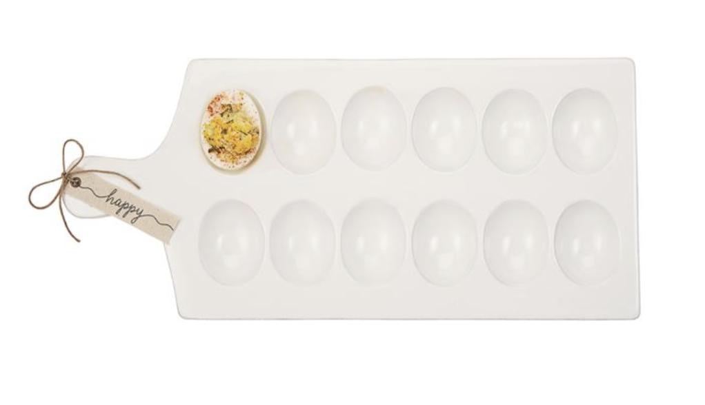 Happy Deviled Egg Tray