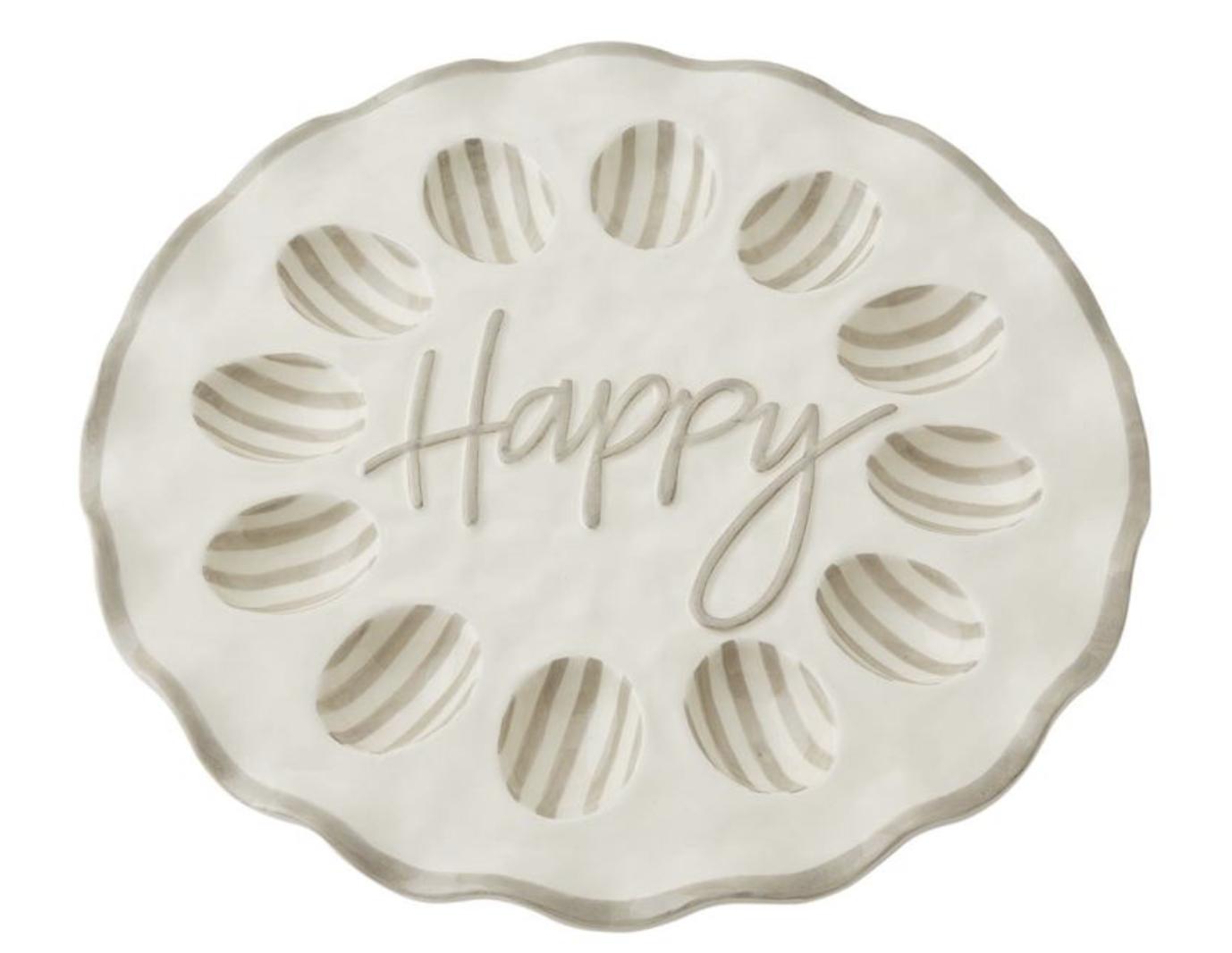 Happy Ruffled Egg Tray