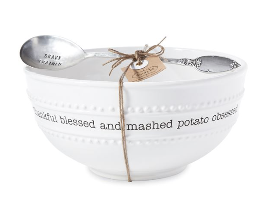Mashed Potato Bowl Set