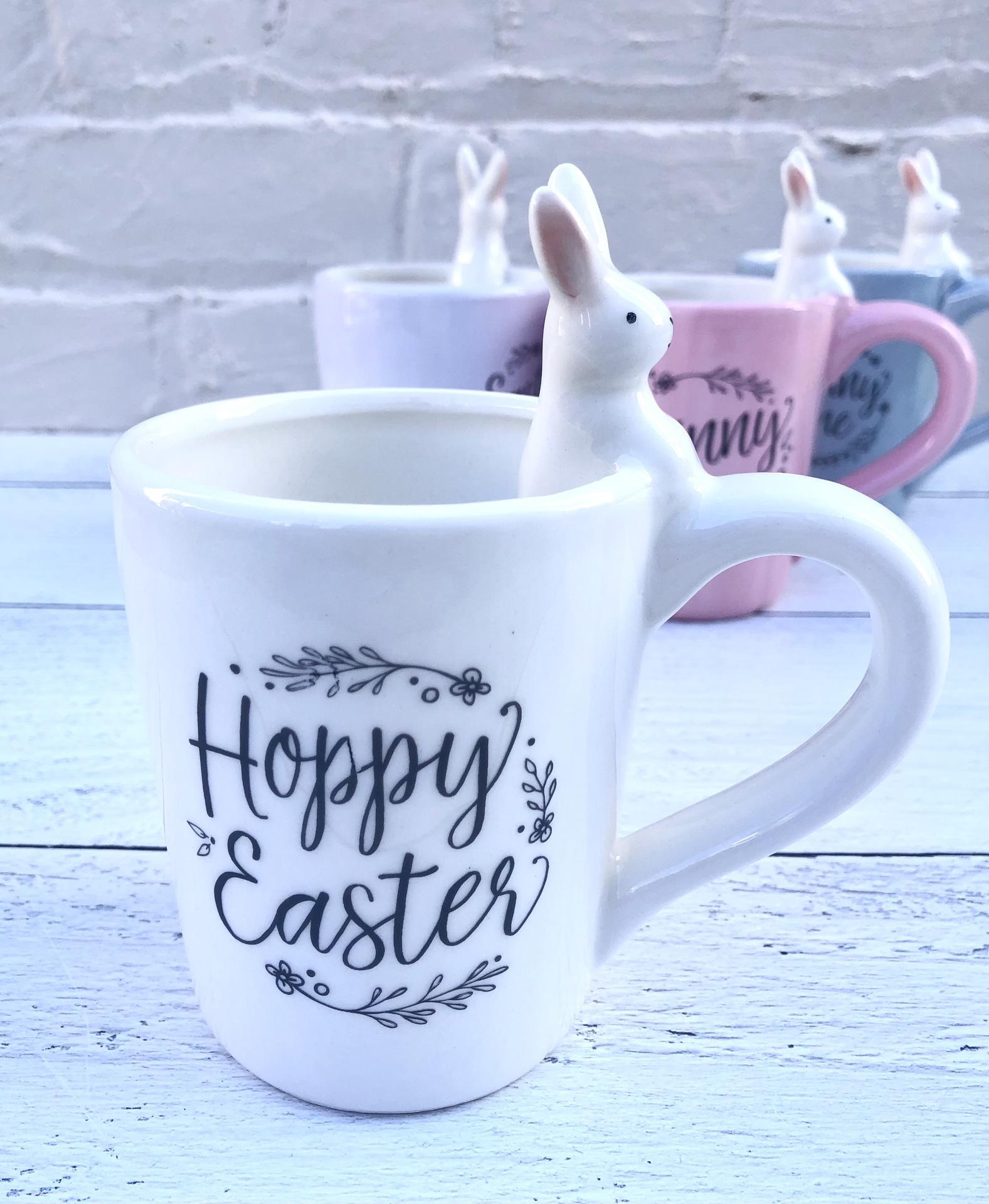 Sweet Bunny Mug--CHOOSE DESIGN/COLOR