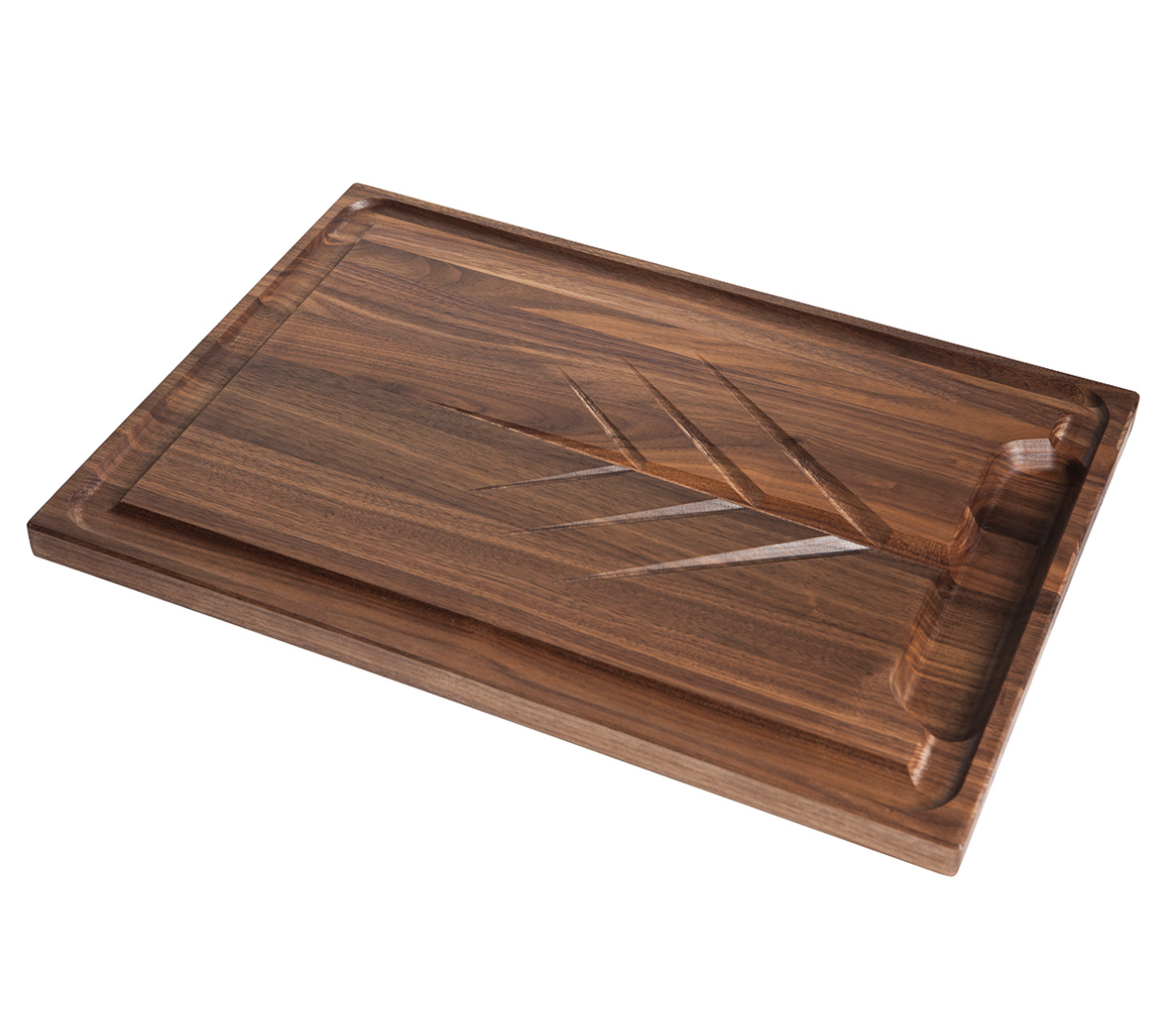 "Walnut Carving Cutting Board, 20""x14""x1"""