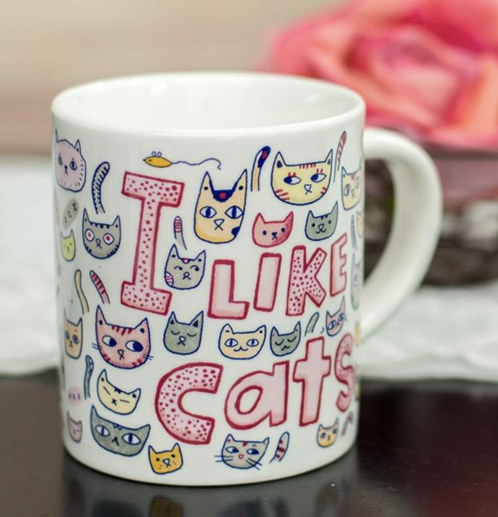 I Like Cats Mug