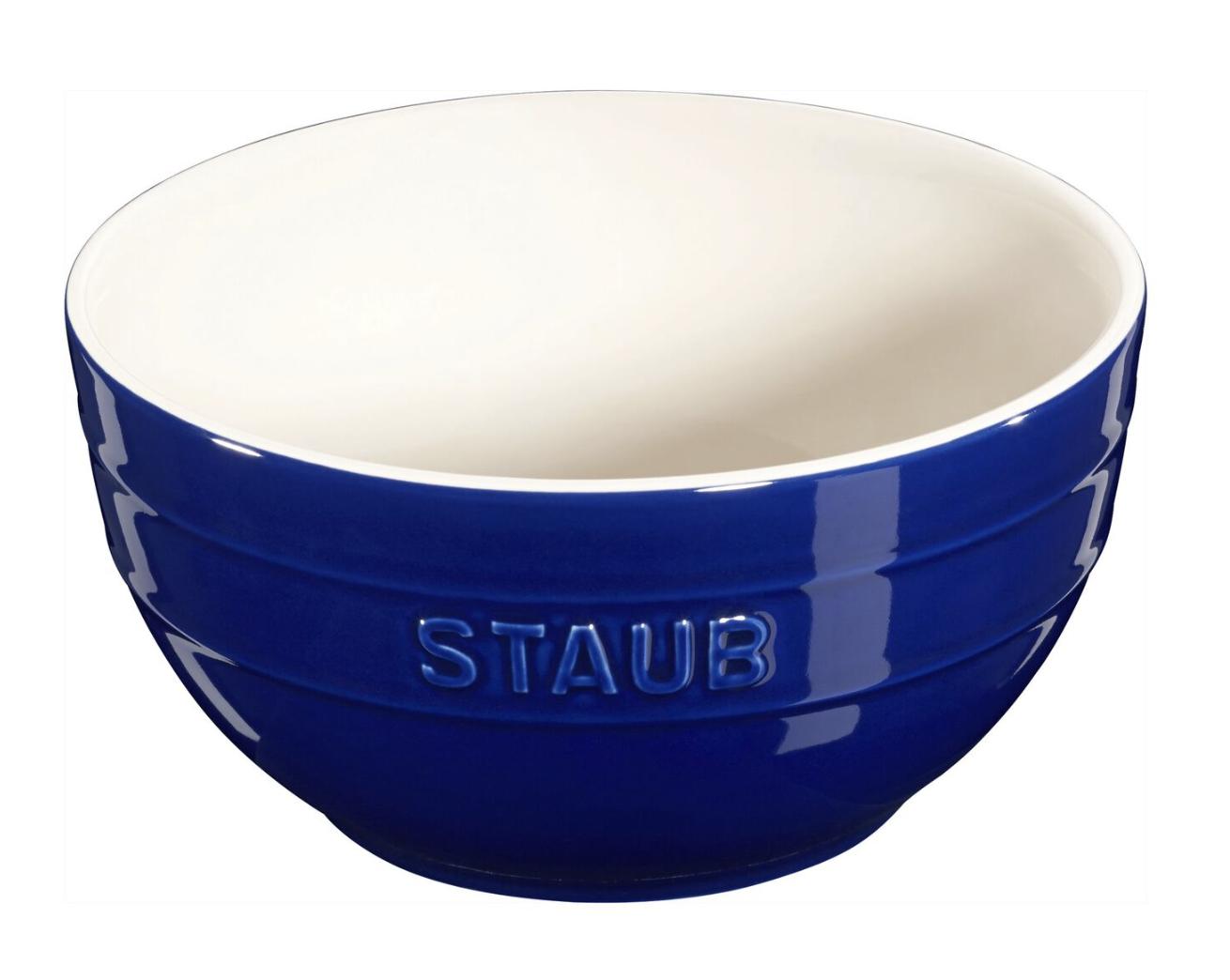 "Staub Ceramic Bowl Set/2, 17cm/6.5"" diameter"