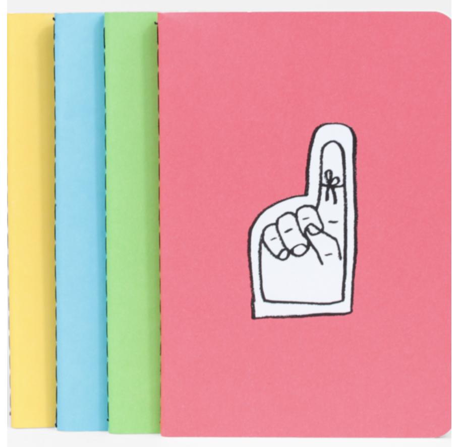 "Mini Notebook Set, 3.5"" x 5"""