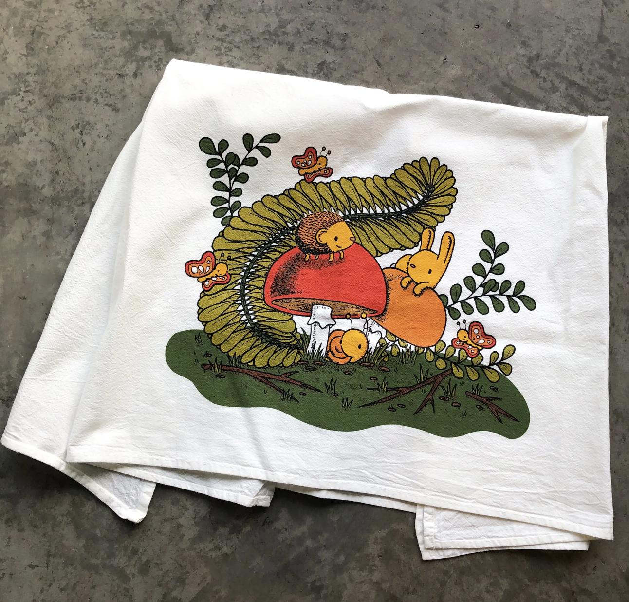 Plant Pals, Tea Towel