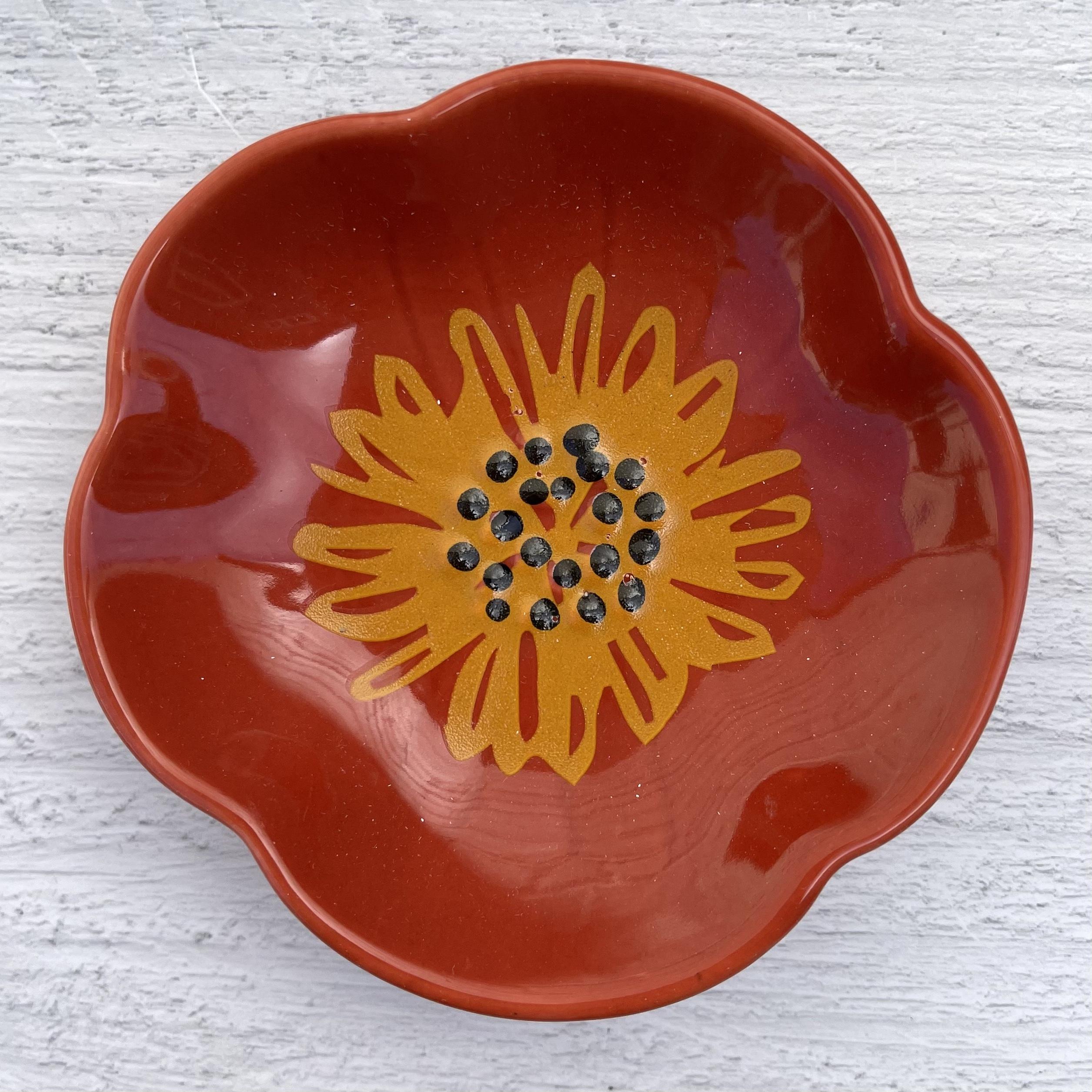 Flower Pinch Bowls--CHOOSE SET/6 OR SINGLES