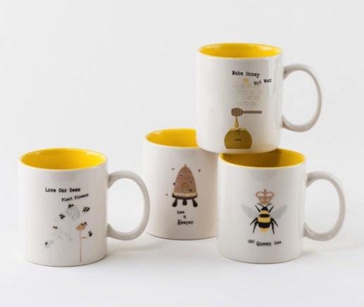 Busy Bee Mug, 4 Styles