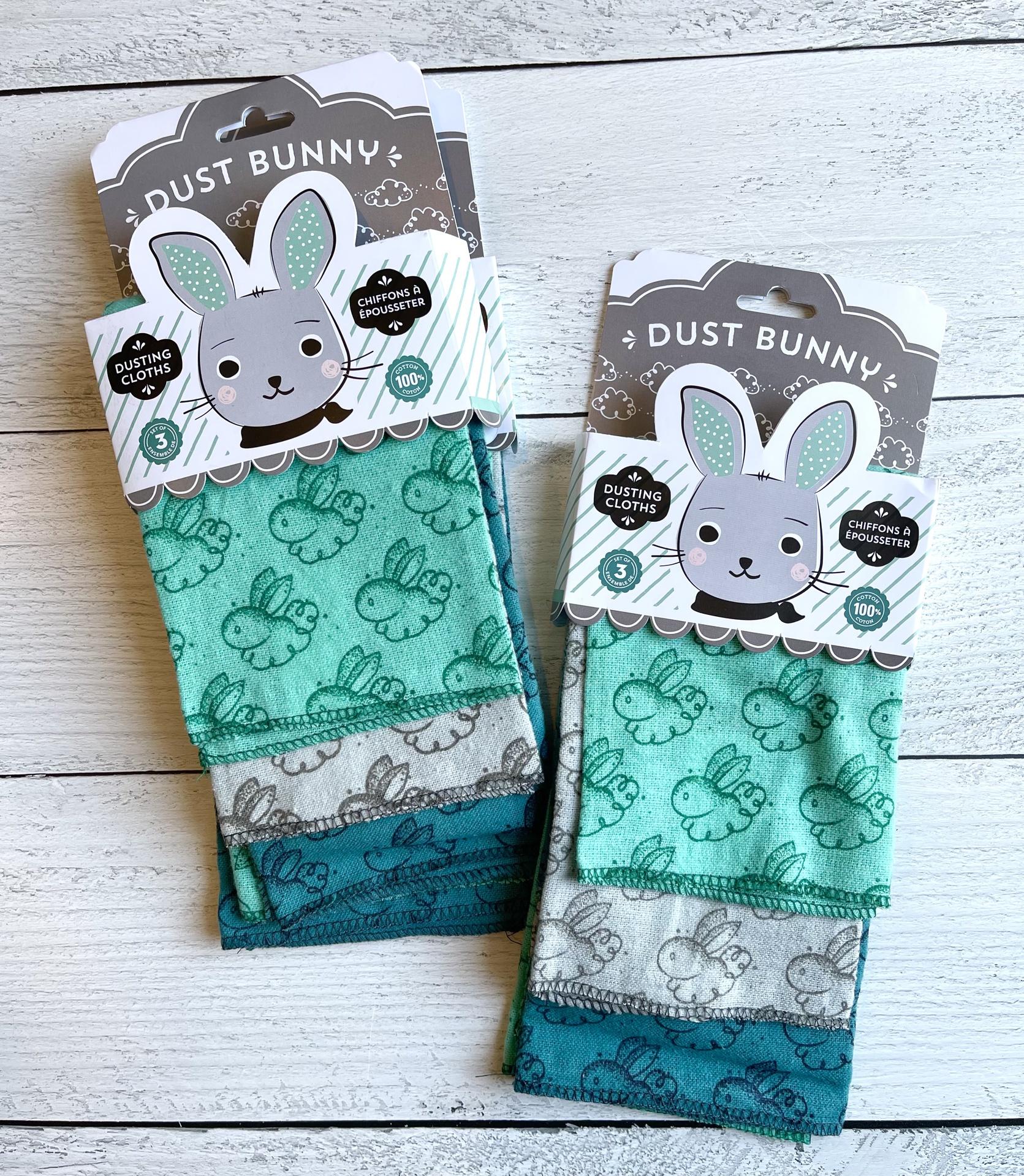 Dust Bunny Dusting Cloth Set/3