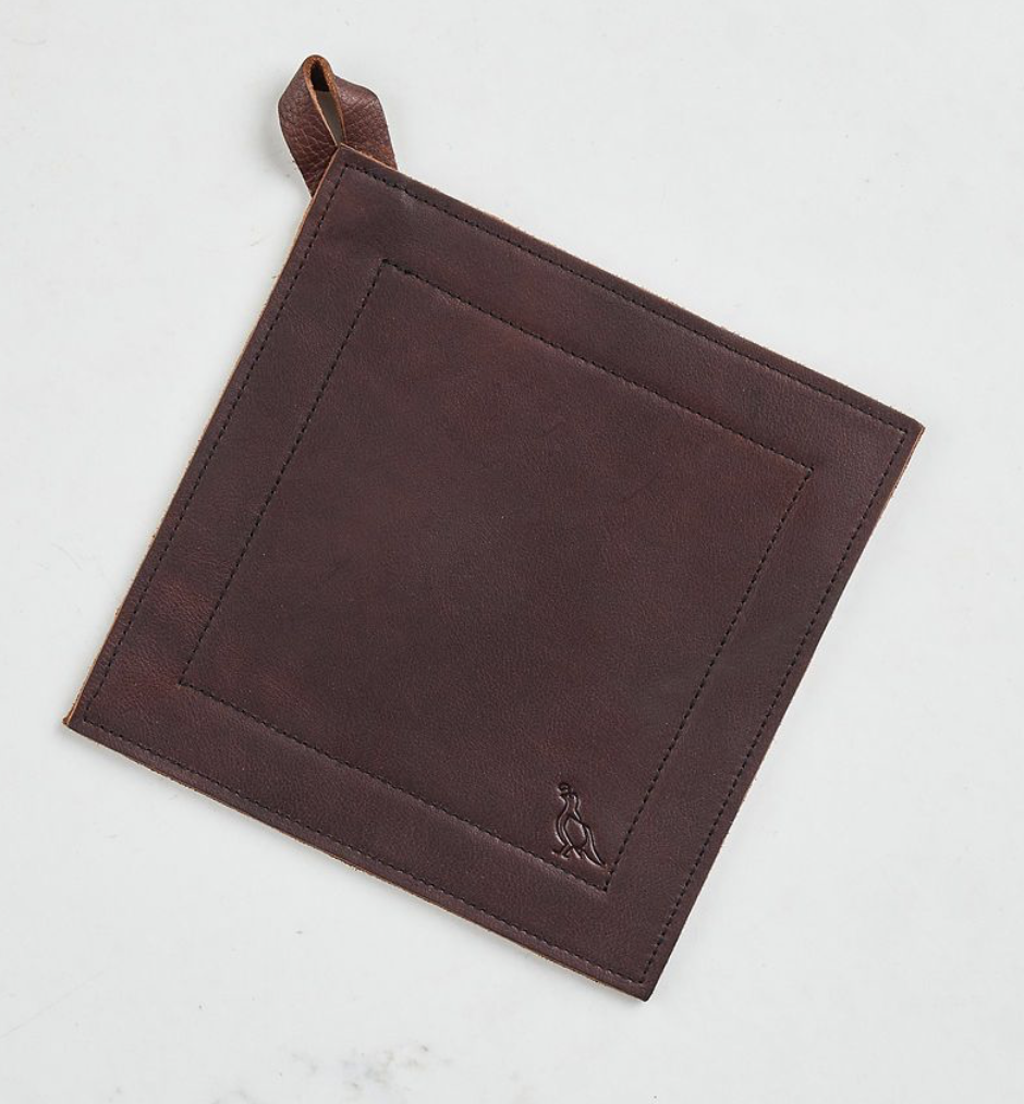 Smithey Full Grain Leather Potholder