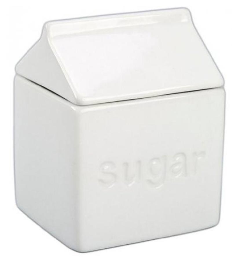 Milk Carton Sugar Bowl