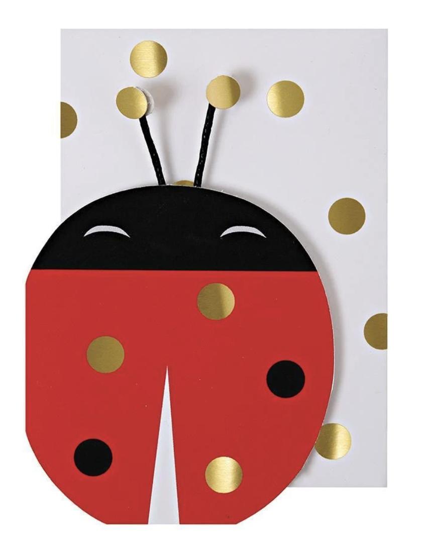 Lady Bug, Mini Card