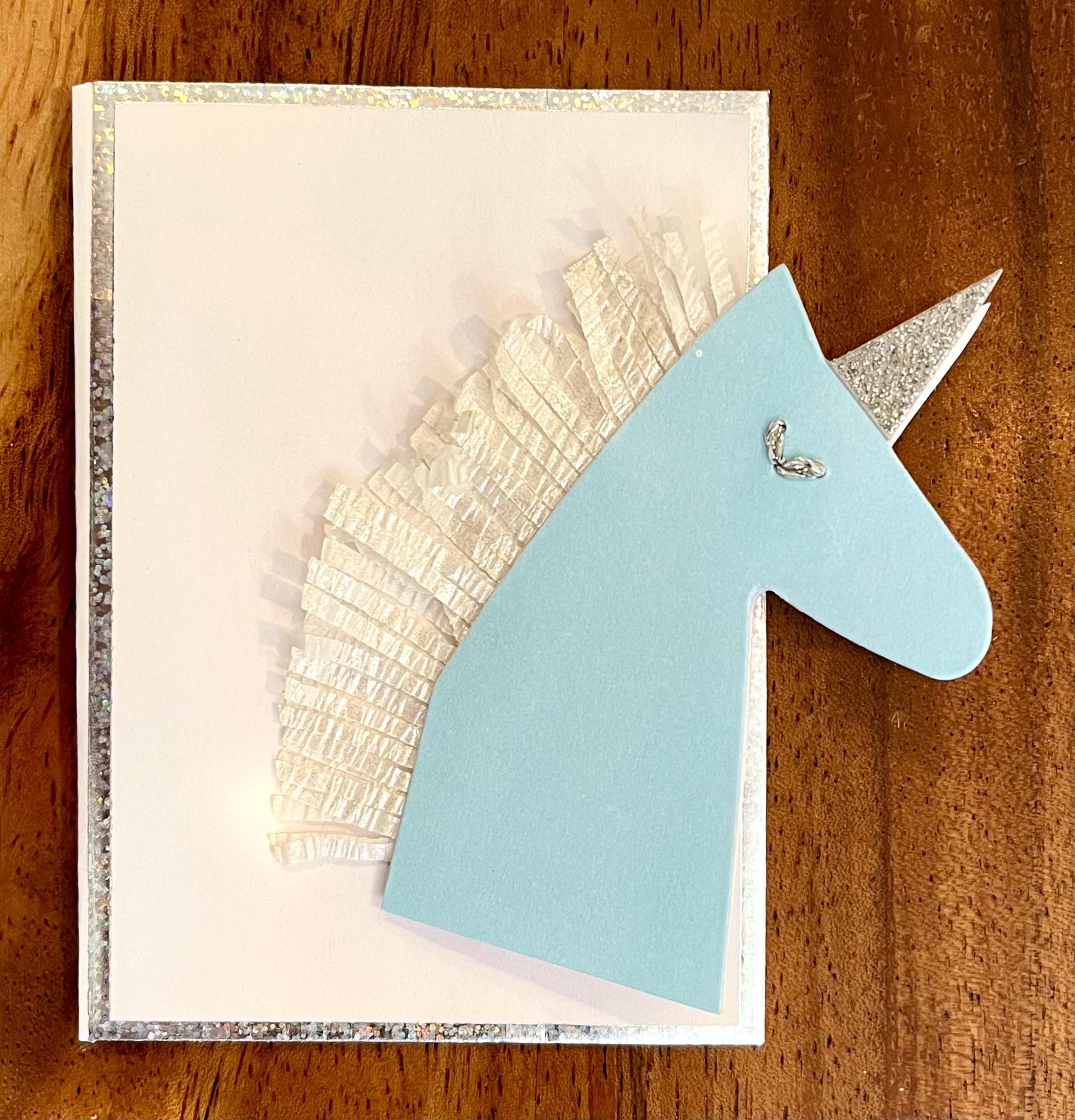 Unicorn, Mini Card