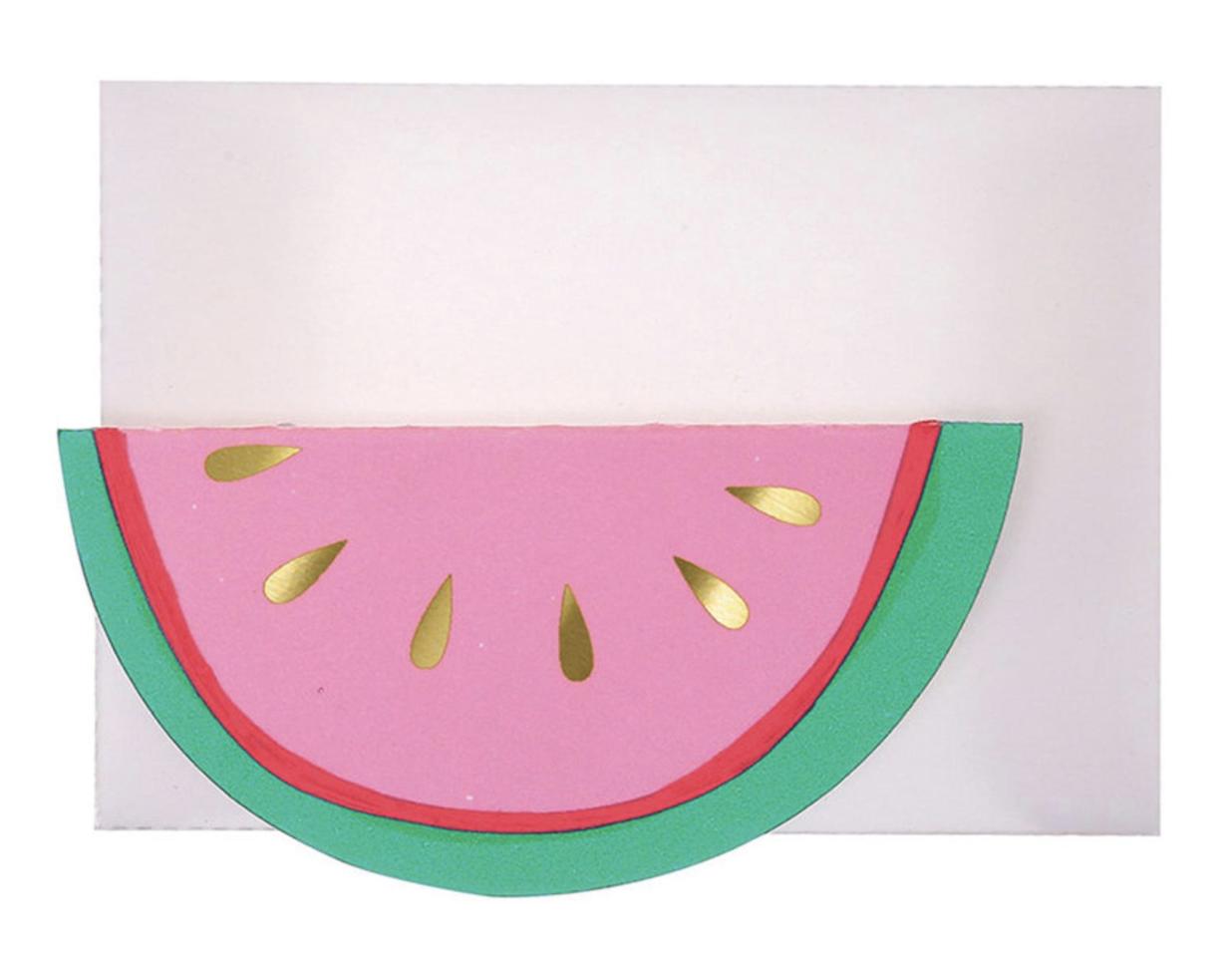 Watermelon, Mini Card