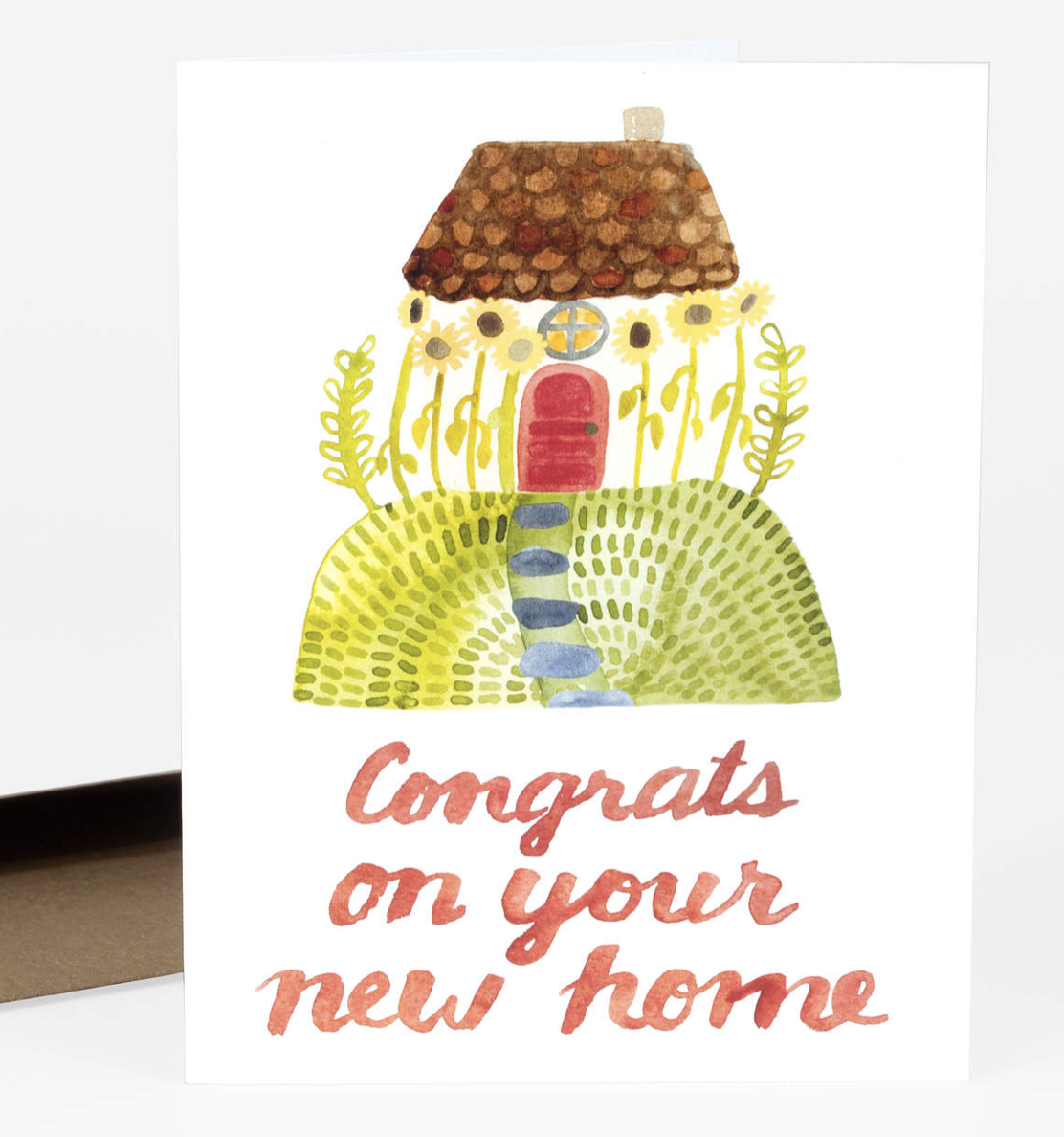"""""""Congrats on Your New Home"""" Blank Greeting Card"""