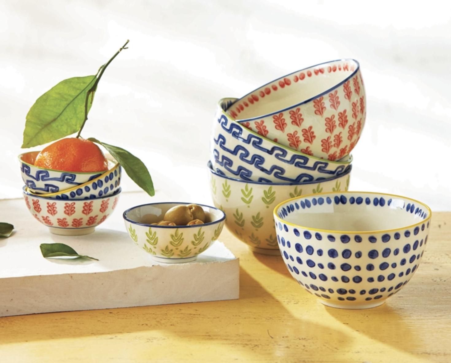 Dolce Vita Snack Bowl--CHOOSE DESIGN