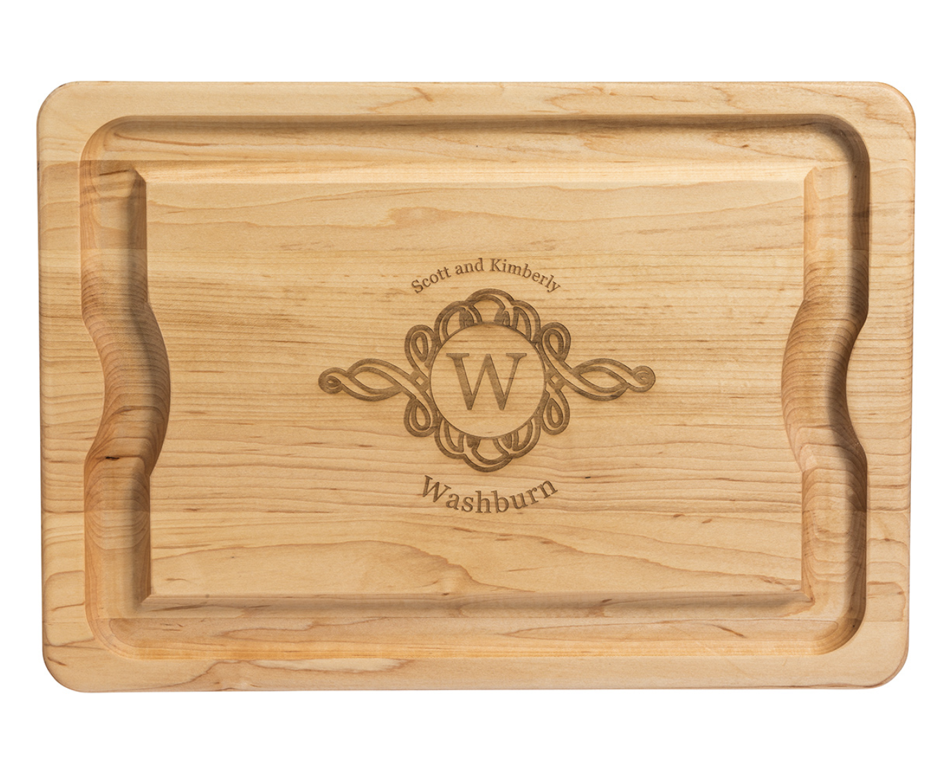 """Maple BBQ Board, 20""""x14""""--PERSONALIZATION OPTIONS AVAILABLE"""