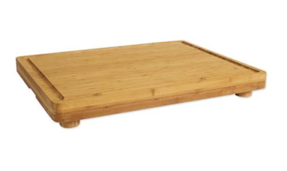 "Island Bamboo Encinitas Board with Feet, 23""x18""x1.75"