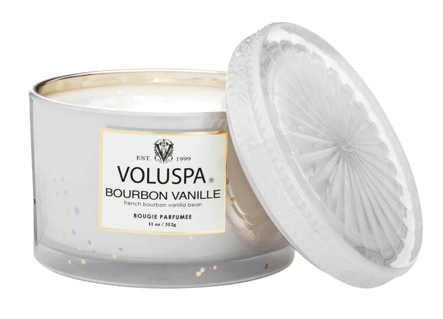 Voluspa Bourbon Vanille, Corta Maison Candle