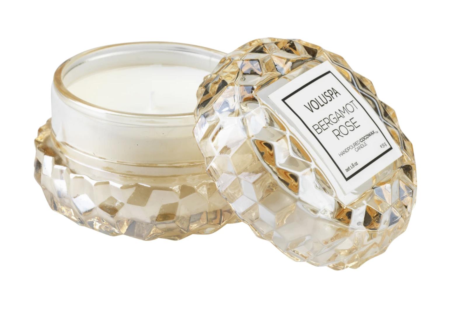 Voluspa Bergamot Rose, Macaron Candle
