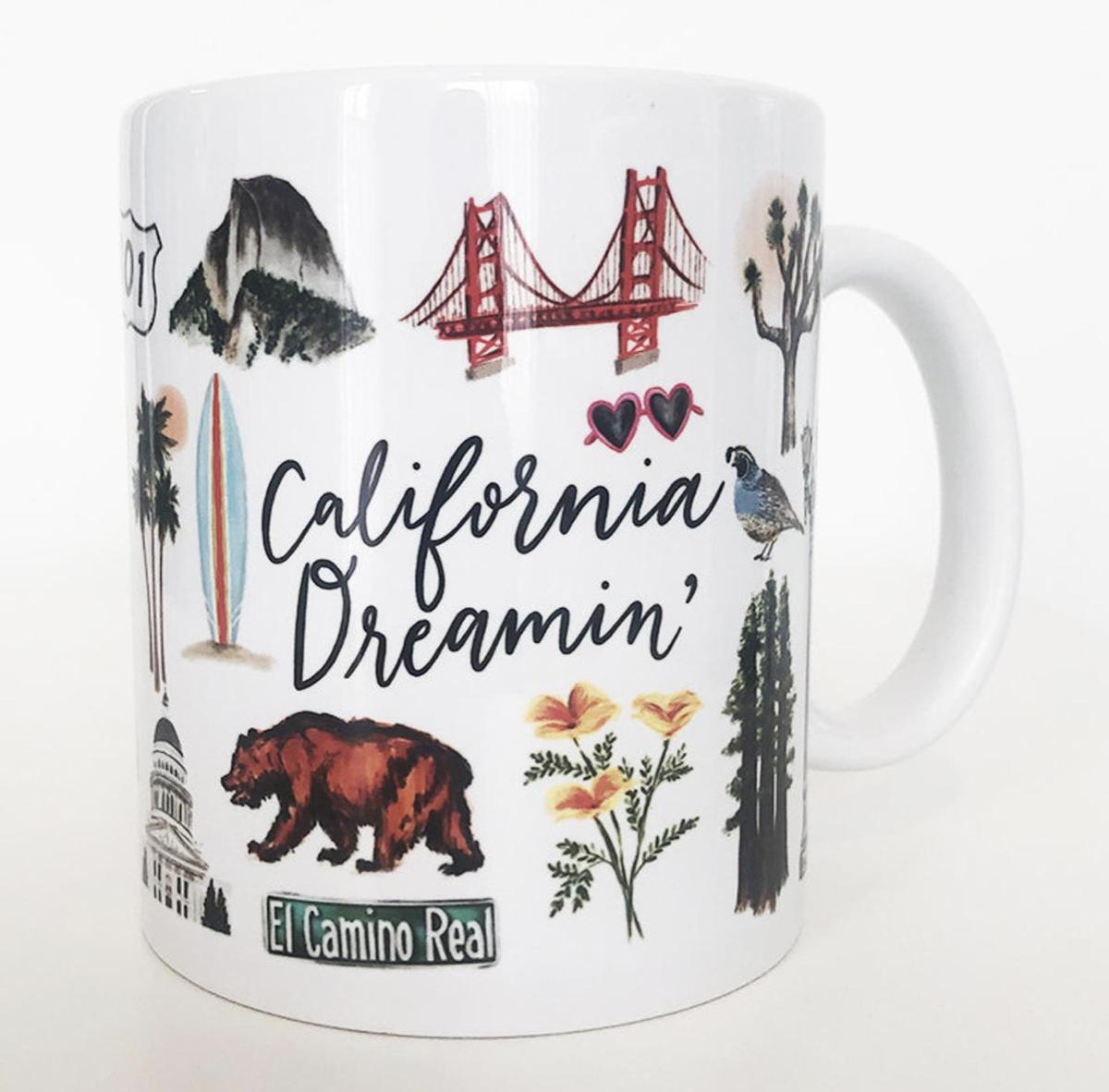 California Dreaming Mug, 11oz