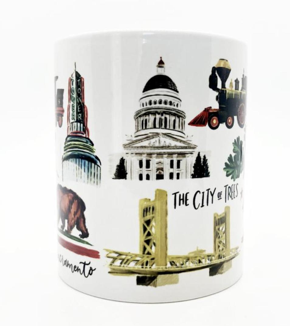 Sacramento Icons Mug, 11oz