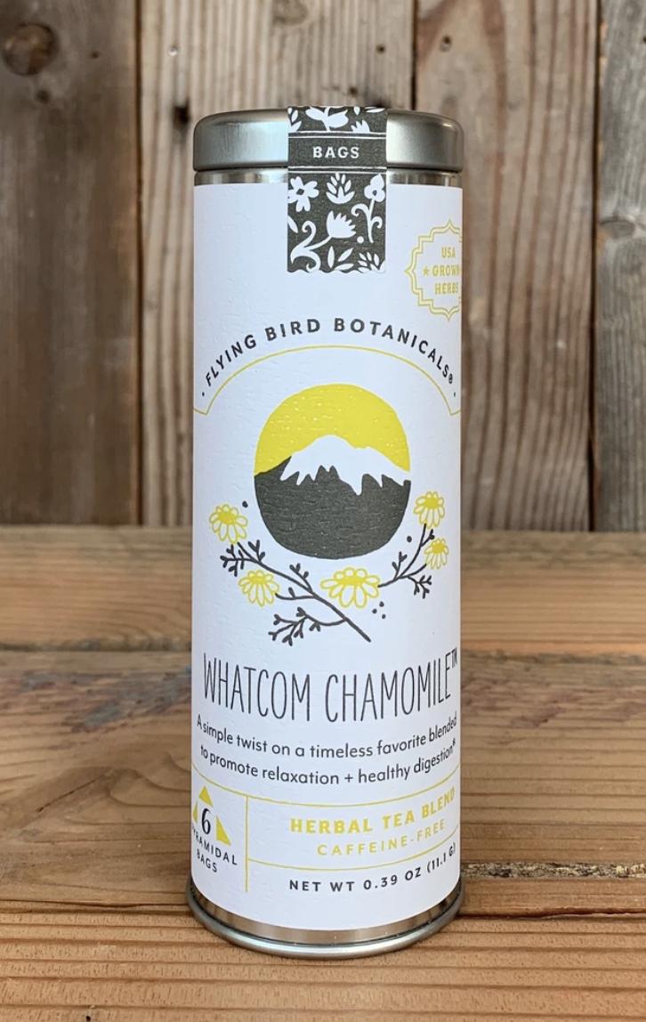 Flying Bird Botanicals: Whatcom Chamomile, 6 bags
