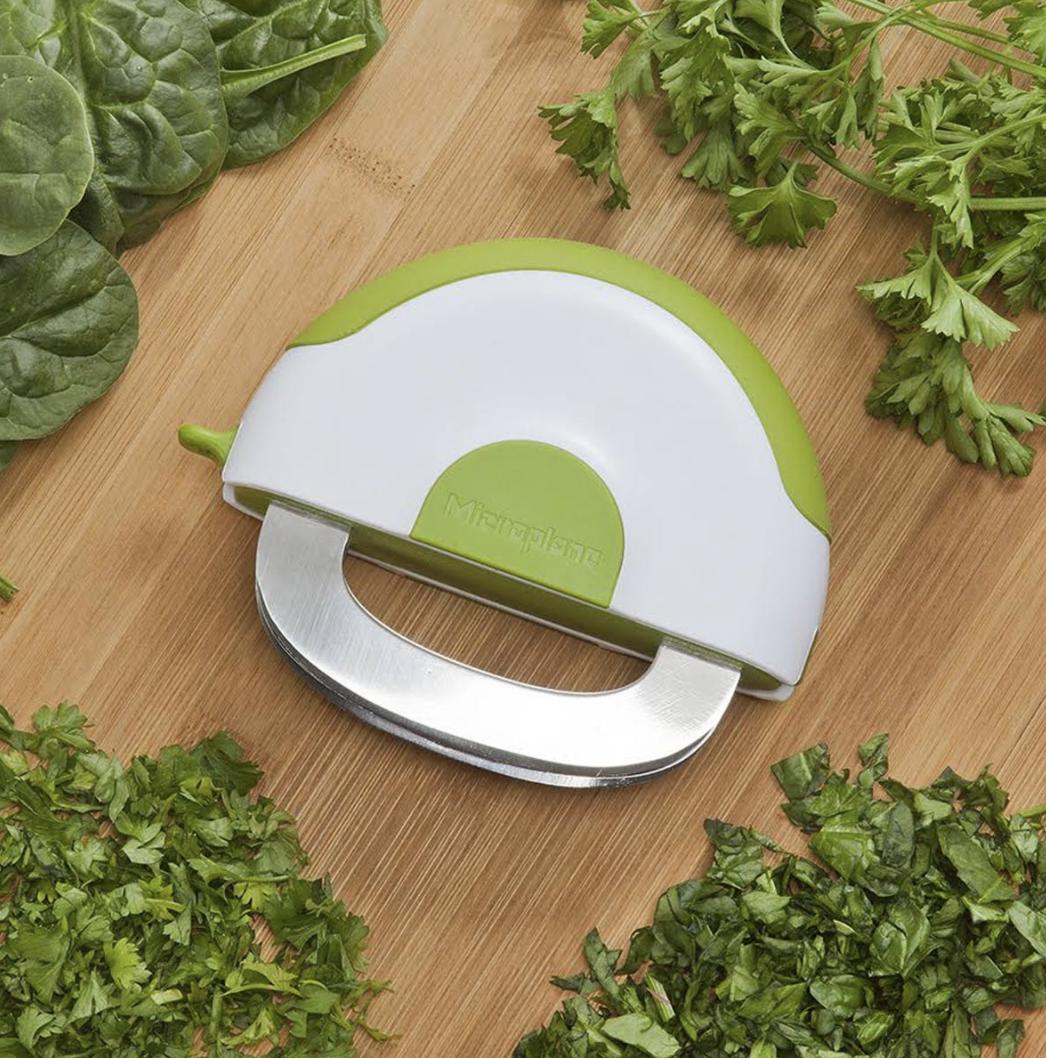 Microplane Herb & Salad Mezzaluna Chopper