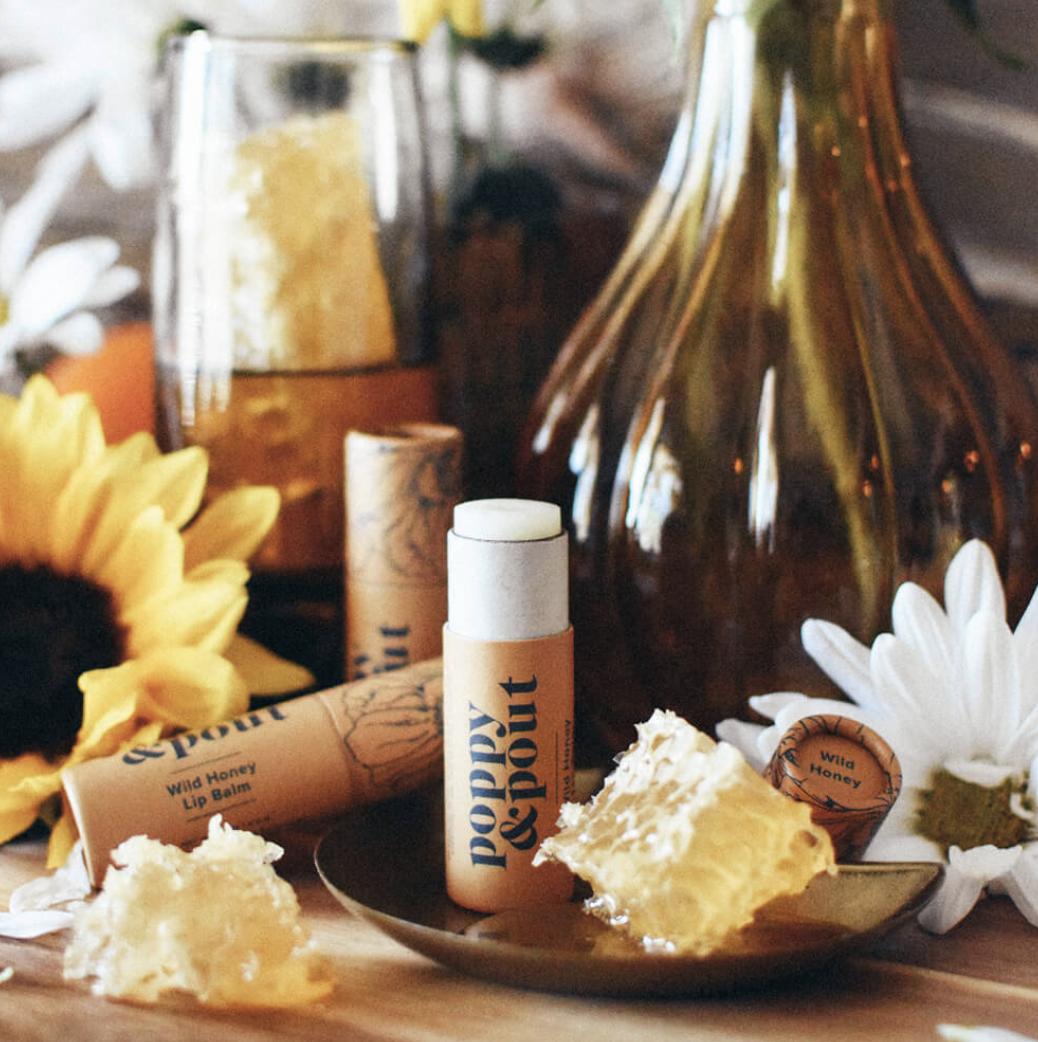Wild Honey: Poppy & Pout Lip Balm