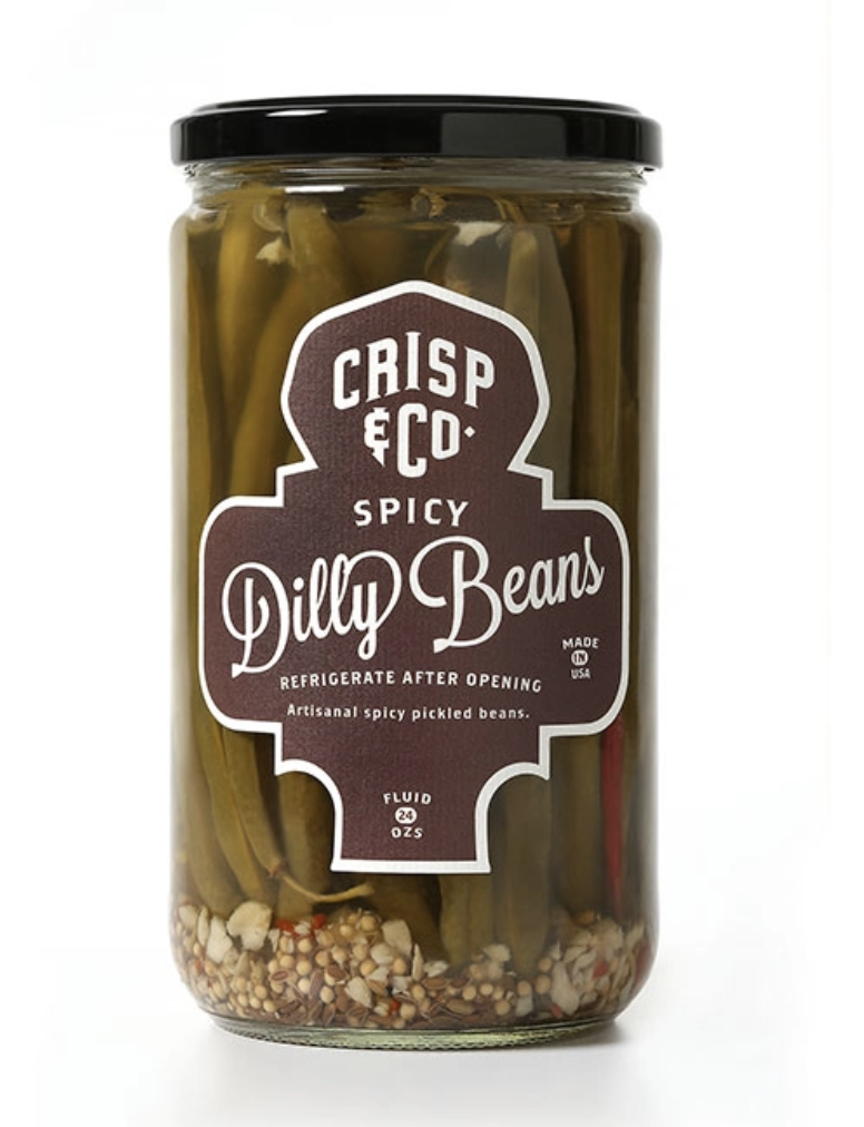 Crisp & Co. Spicy Dilly Beans, 24oz
