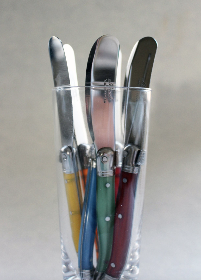 Languiole Cheese Utensil, Spreader--CHOOSE COLOR