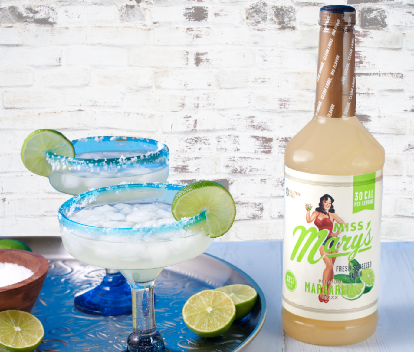 Miss Mary's Lite Margarita Mix, 32oz