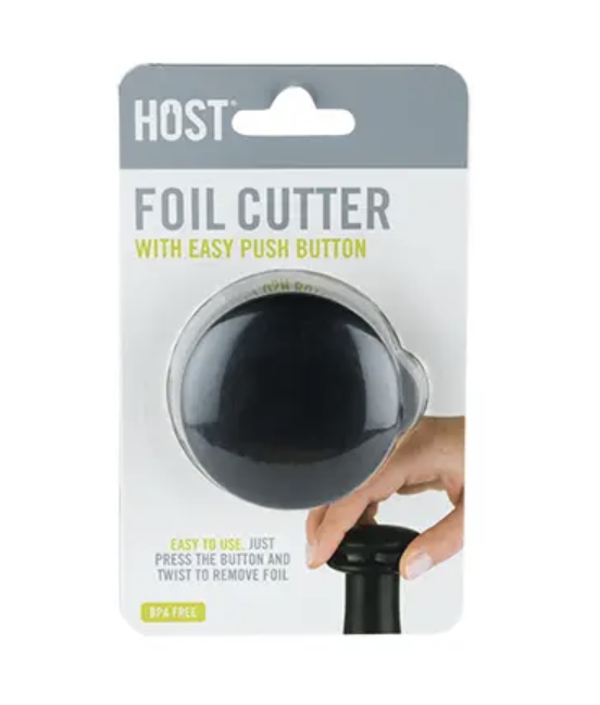Foil Cutter with Easy Push Button