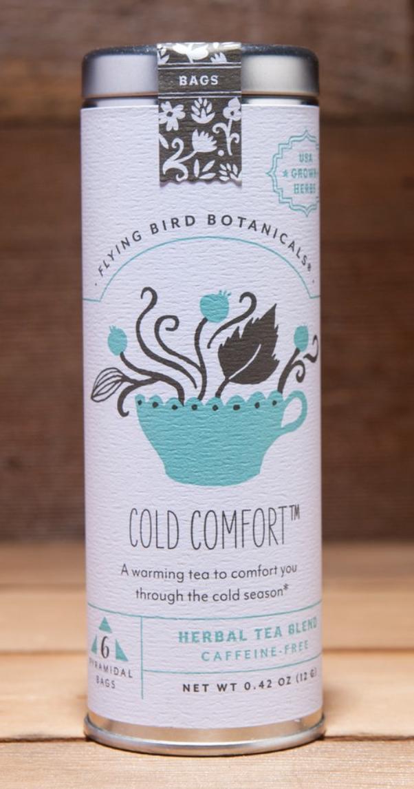 Flying Bird Botanicals: Cold Comfort, 6 bag