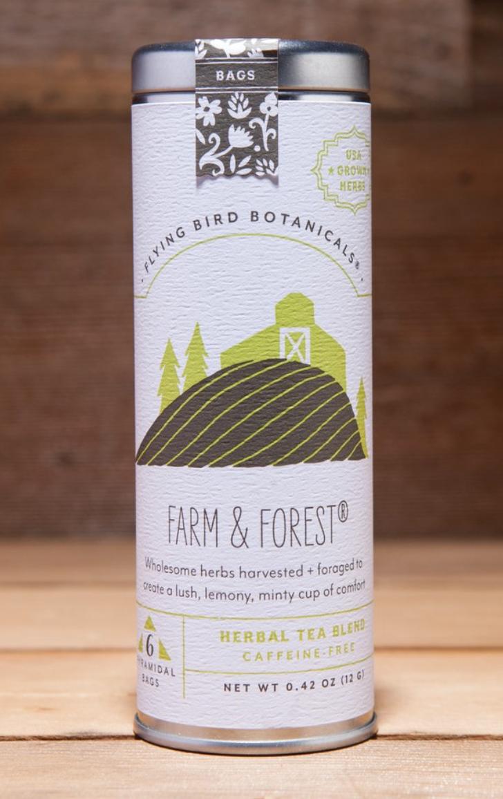 Flying Bird Botanicals: Farm & Forest, 6 bag