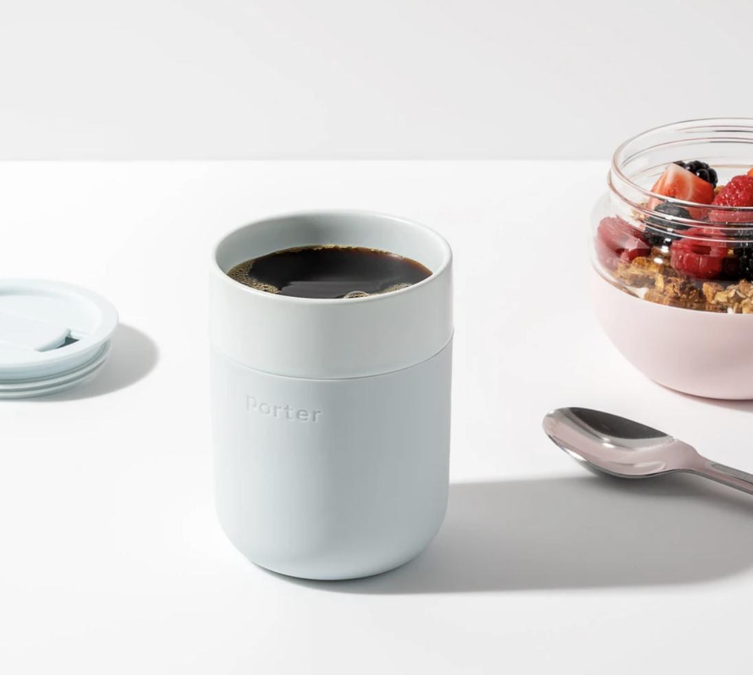 Porter Ceramic Mug--CHOOSE COLOR