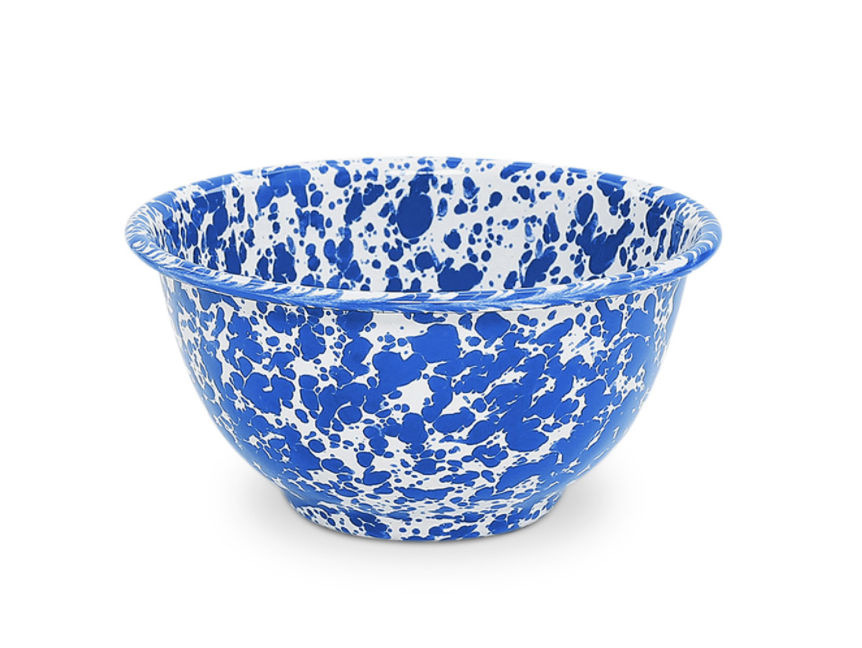 Enamelware Footed Bowl, 14oz